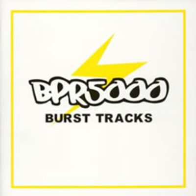 BPR5000 BURST TRACKSジャケット