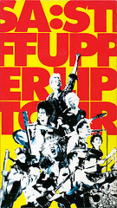 STIFF UPPER LIP TOURジャケット